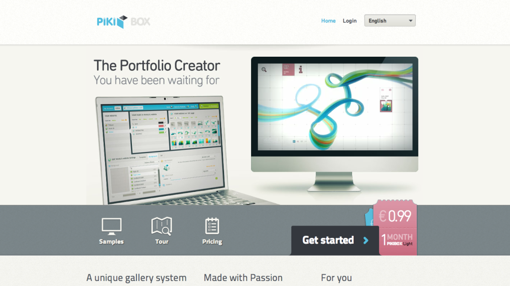 web design inspiration 2014