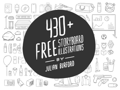 430+ Storyboard Illustrations