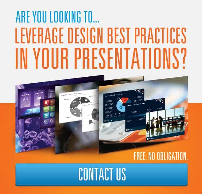 Leverage design best practices in your presentations