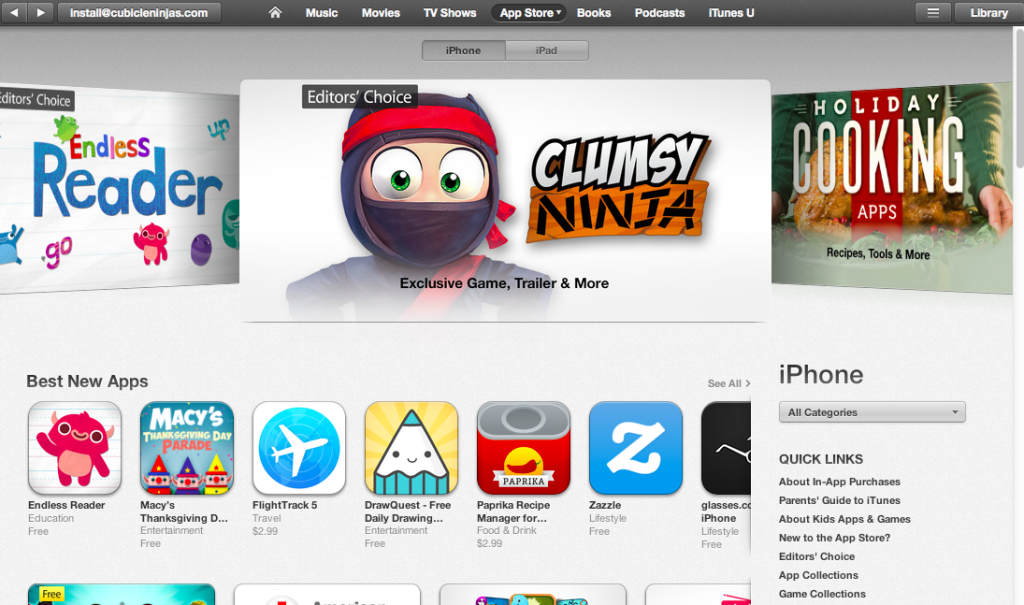 app store videos