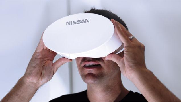nissan virtual reality