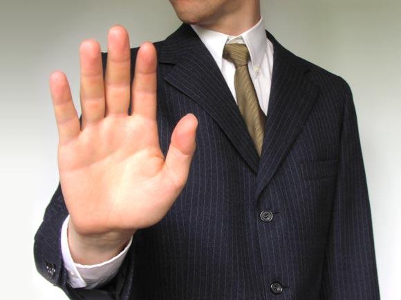 Man in crisp suit