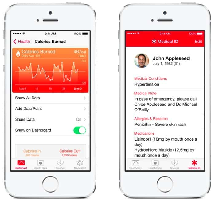 healthkit app design