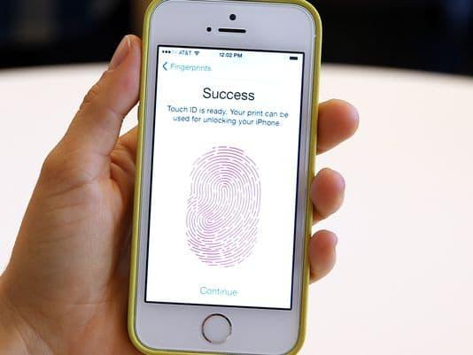 i08 fingerprint app