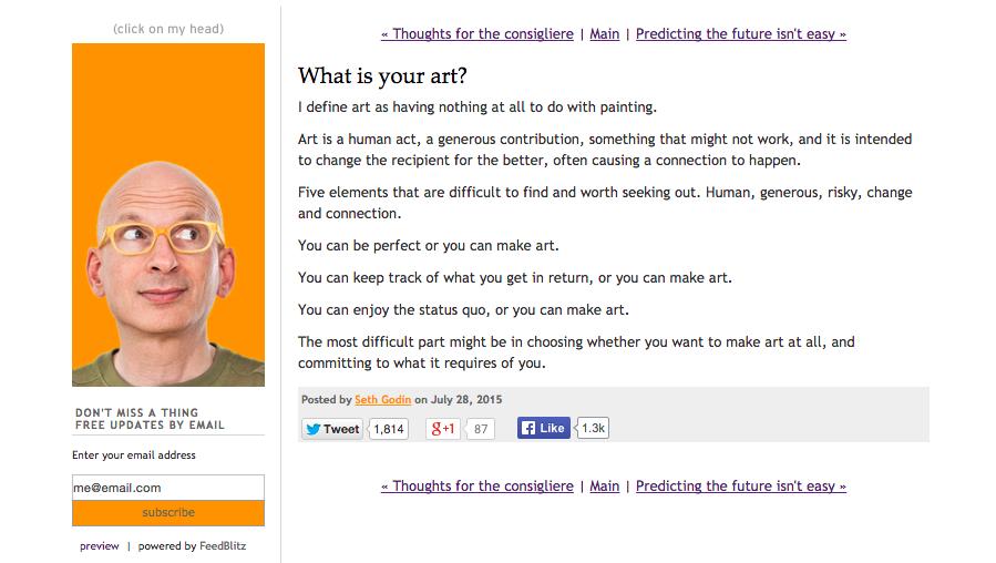 Seth Godin 2