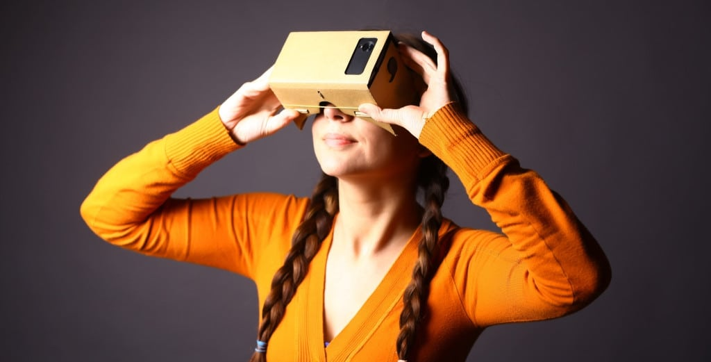Marketing with Google Cardboard