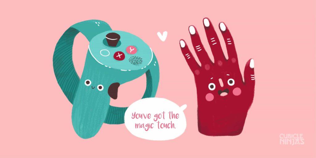Virtual Reality Valentine's Day Card