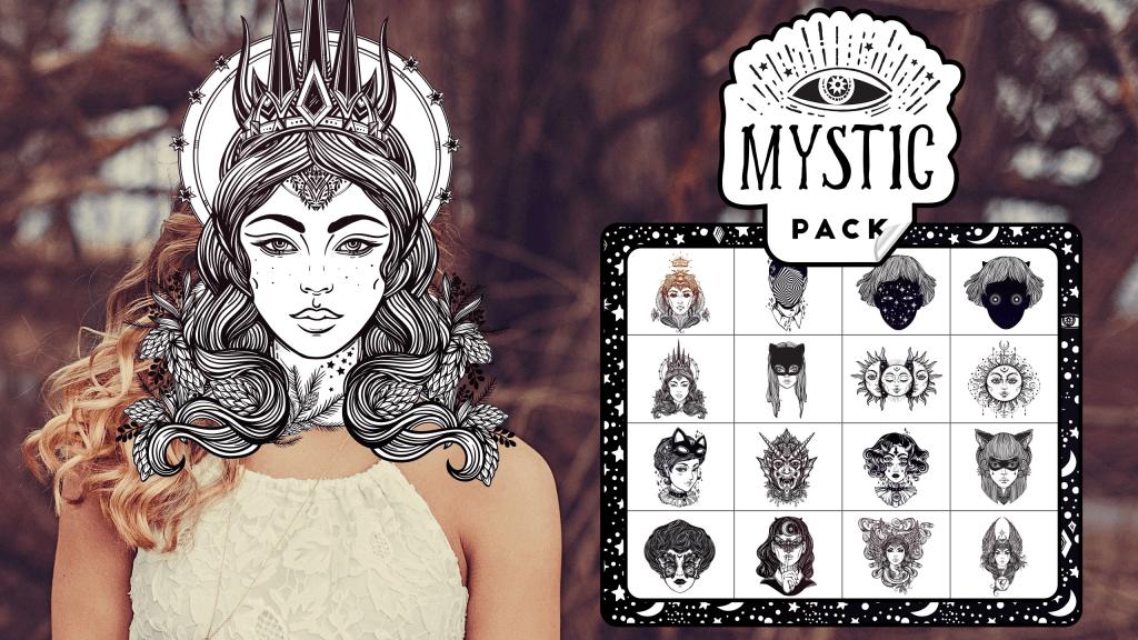 Mystic Stickar Pack for Gear VR