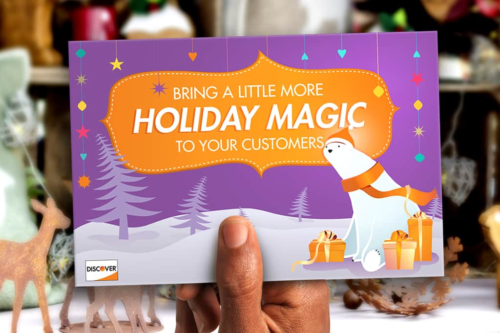 Holiday Magic Direct Mailer