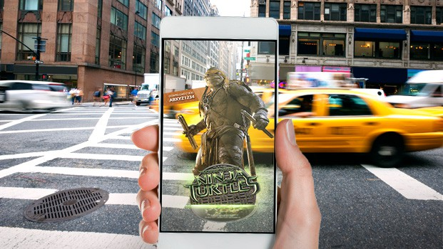 Teenage Mutant Ninja Turtles AR Campaign