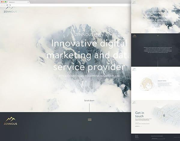 2018 Ninjawards Top Web Design Trends Web Design