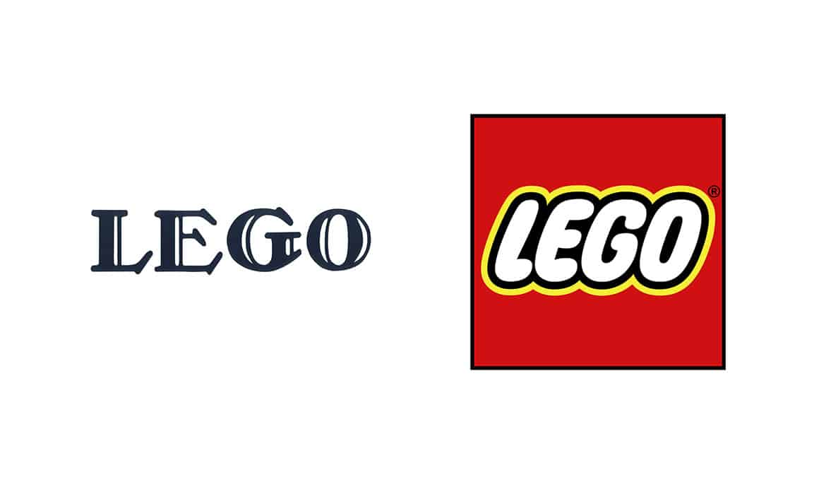 famous brands original logos