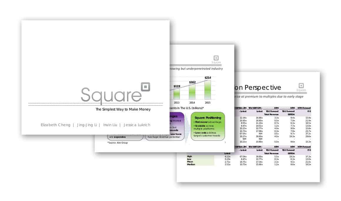pitch presentation for investors