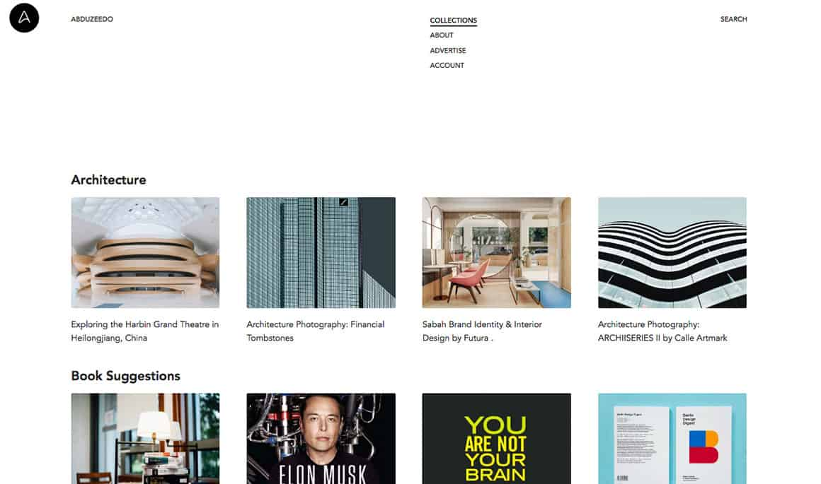 design websites for inspiration