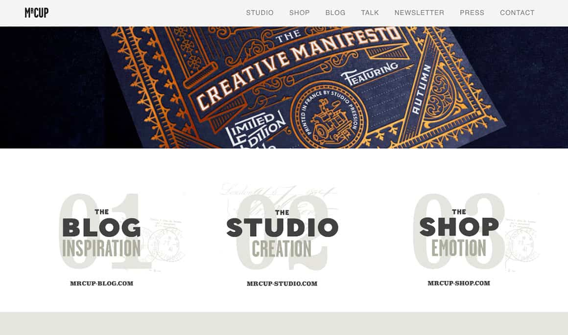 graphic design inspiration websites