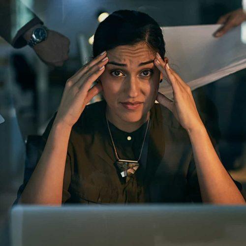 marketing careers stress