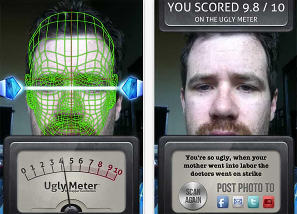 ugliest mobile app designs