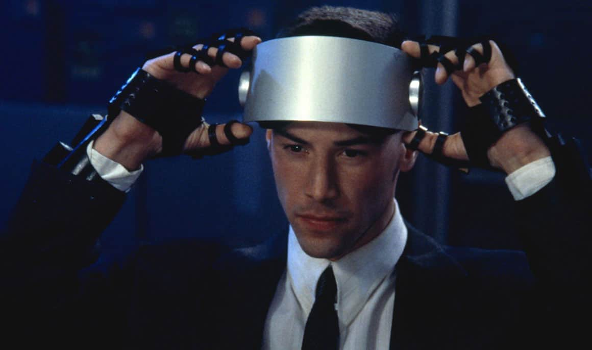 television and movies that inspired virtual reality applications johnny mnemonic