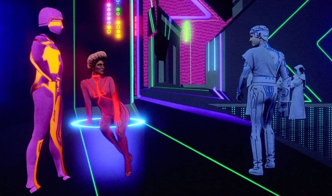 television and movies that inspired virtual reality applications tron
