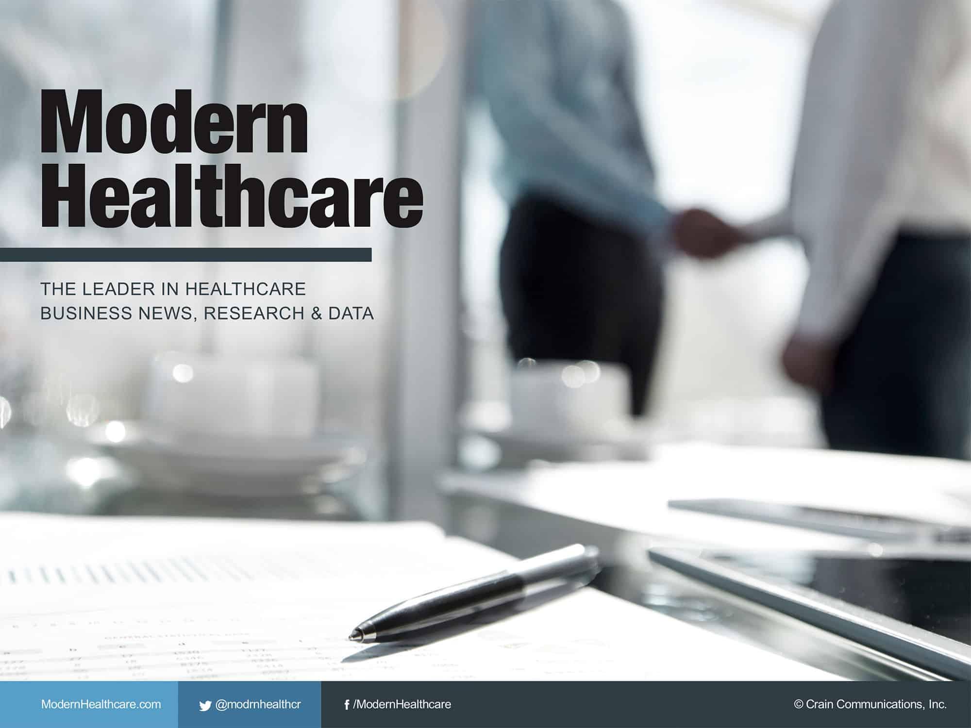 Modern Healthcare | Cubicle Ninjas
