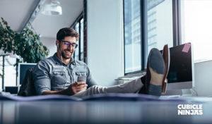 Ways To De Stress At Work use your headphones