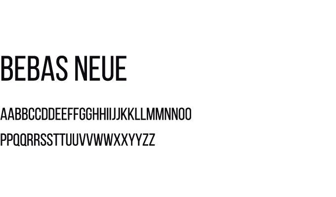presentation fontface