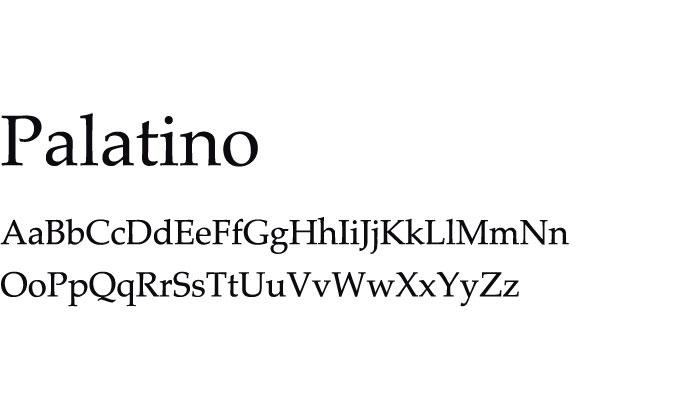 presentation fonts