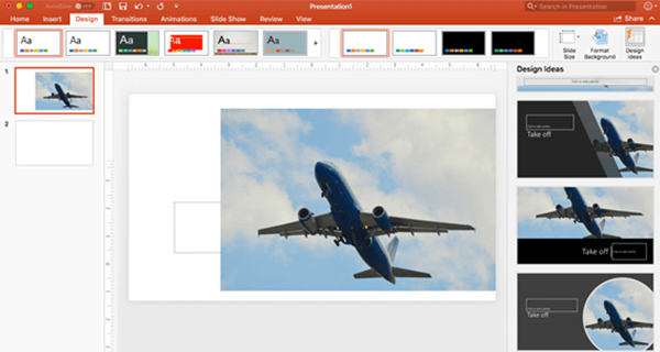 design trends presentations